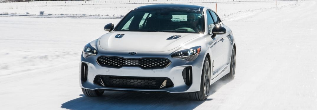 2020 Kia Stinger from exterior front
