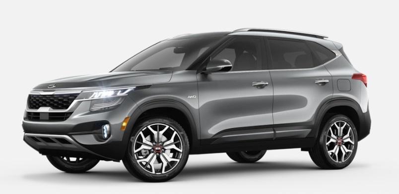 2021 Kia Seltos Steel Gray