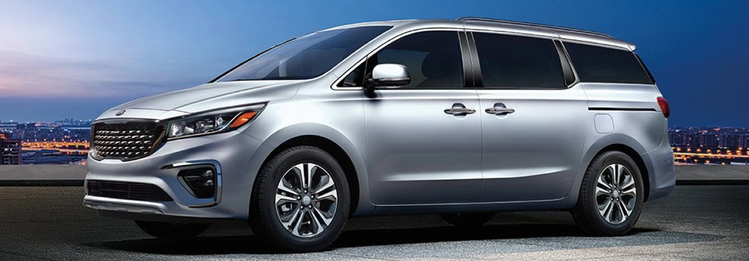 2021 Kia Sedona from exterior front driver's side