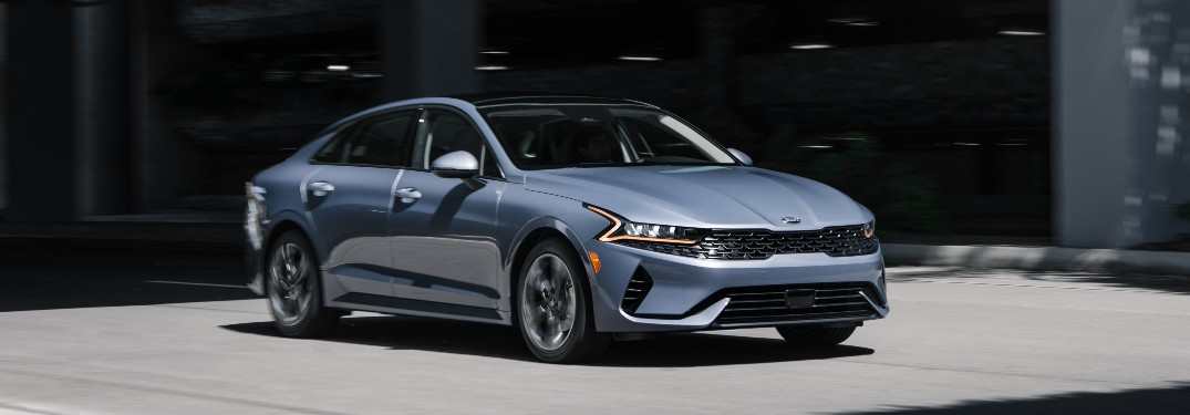What's the difference between the 2021 K5 and the 2020 Optima?