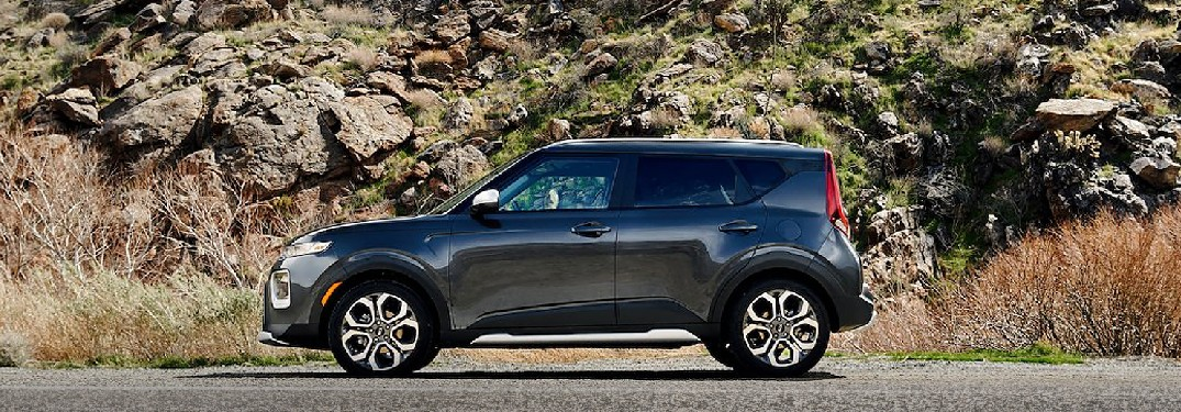 2021 Kia Soul from exterior driver's side