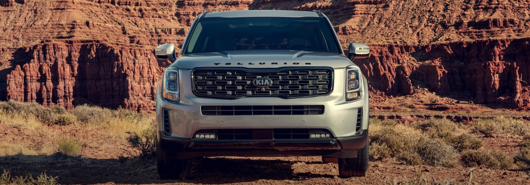 How big is the display in the 2021 Kia Telluride?
