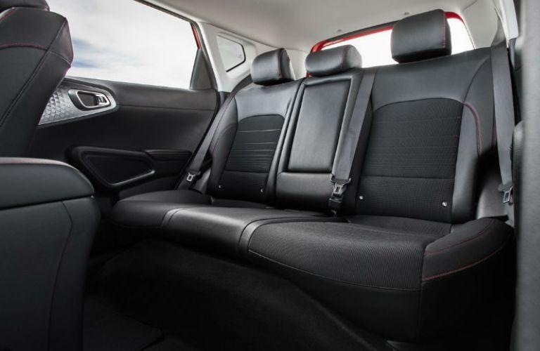 2021 Kia Soul view of interior seats