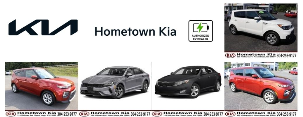 A combined view of the pre-owned Kia models available at Hometown Kia