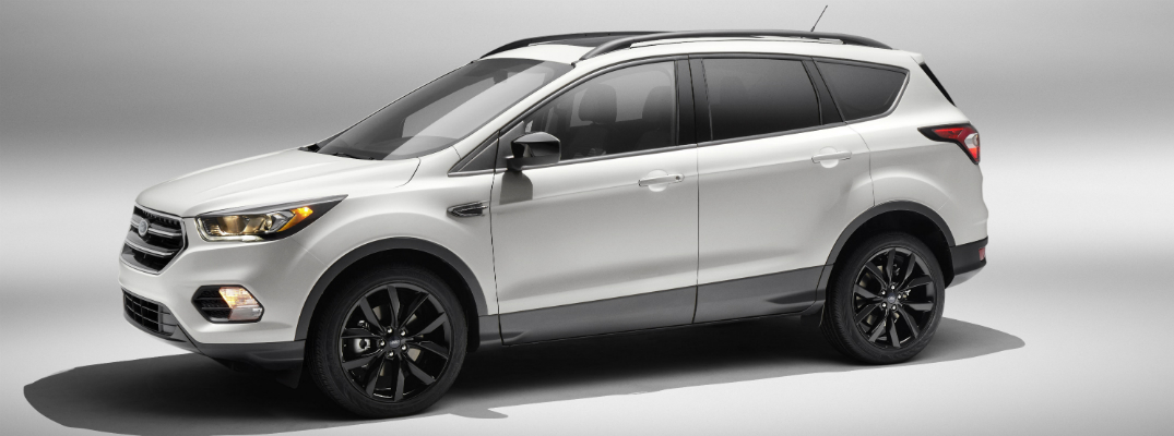 what does the sport package add to the 2017 ford escape?