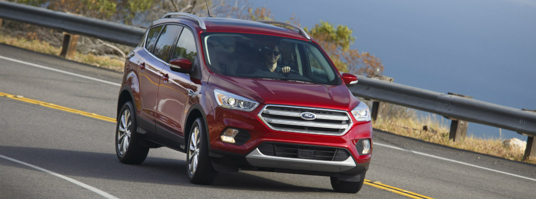 does the 2017 Ford Escape compare to other SUVs