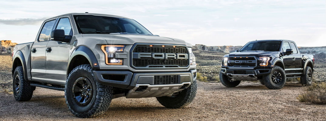 What Colors Does The 2017 Ford Raptor Come In?