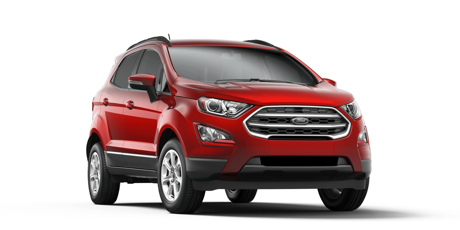 Ford Ecosport Ruby Red Front View