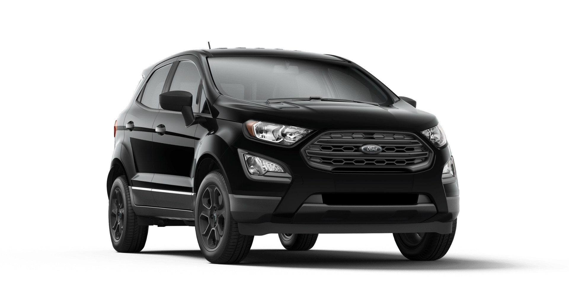 Ford Ecosport Shadow Black Front View