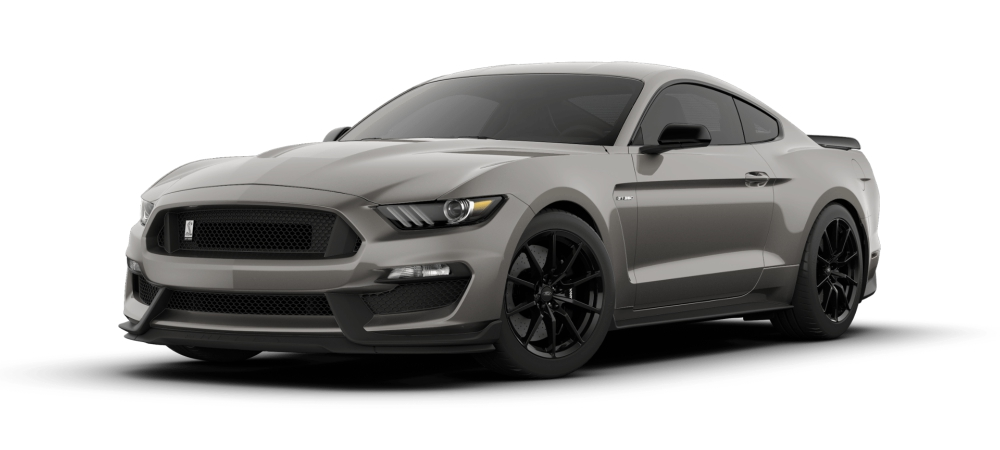 2018 Ford Mustang Shelby Gt350 Lead Foot Gray Front Side