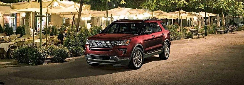 2018 ford explorer color options