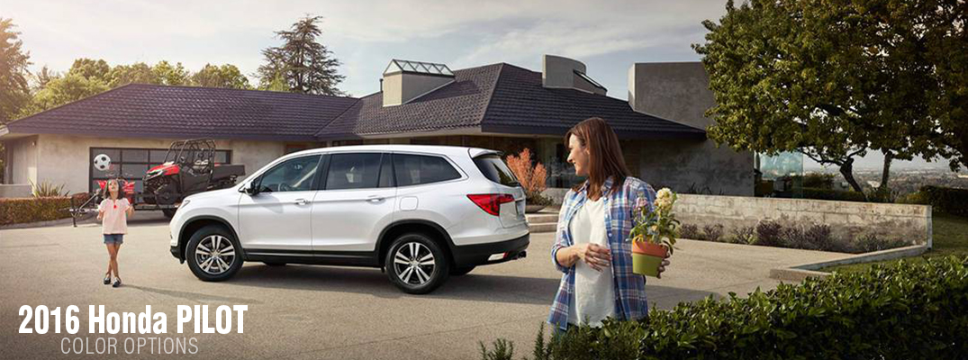 2016 Honda Pilot Color Options