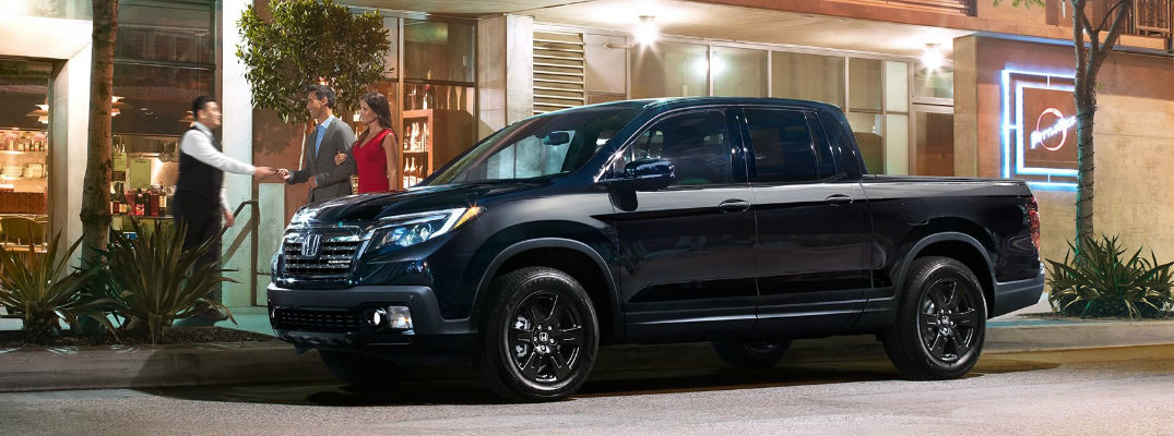 No Truck Matches the Presence of the Honda Ridgeline Black Edition