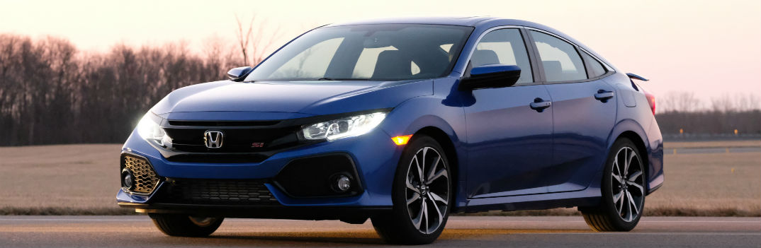 2017 honda civic si coupe and sedan official release date. Black Bedroom Furniture Sets. Home Design Ideas