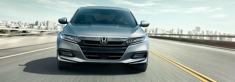 2018 Honda Accord front grey on road