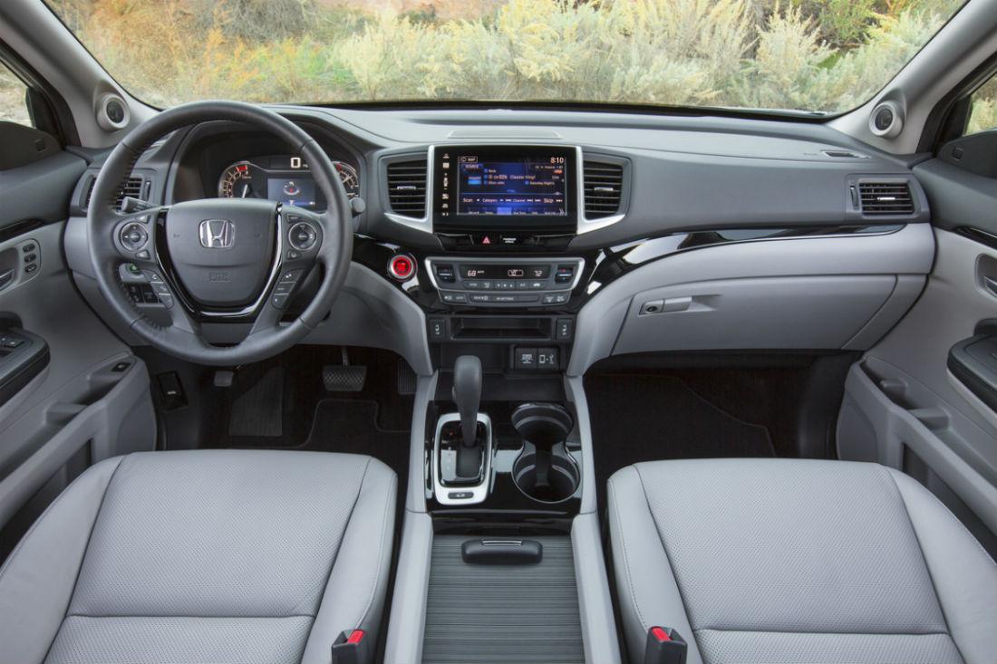 Driveru0027s Cockpit Of The 2019 Honda Ridgeline