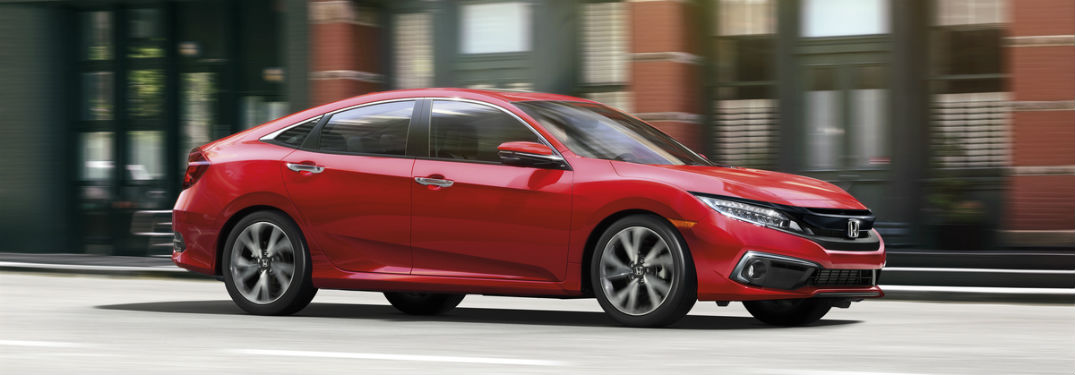 Show Me the Performance & Efficiency Specs of the 2019 Honda Civic Sedan