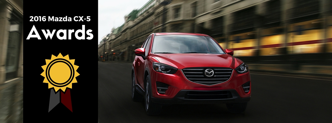 2016 Mazda CX-5 and Other Mazda Models Earn Top Spots in New York Daily News Auto Awards