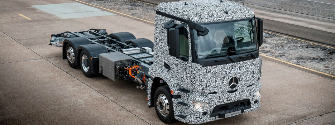 2017 Mercedes-Benz Urban eTruck Specifications