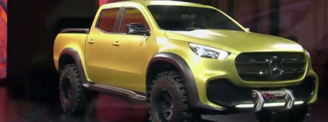 2018 Mercedes-Benz X-Class Powerful Adventurer Release Date