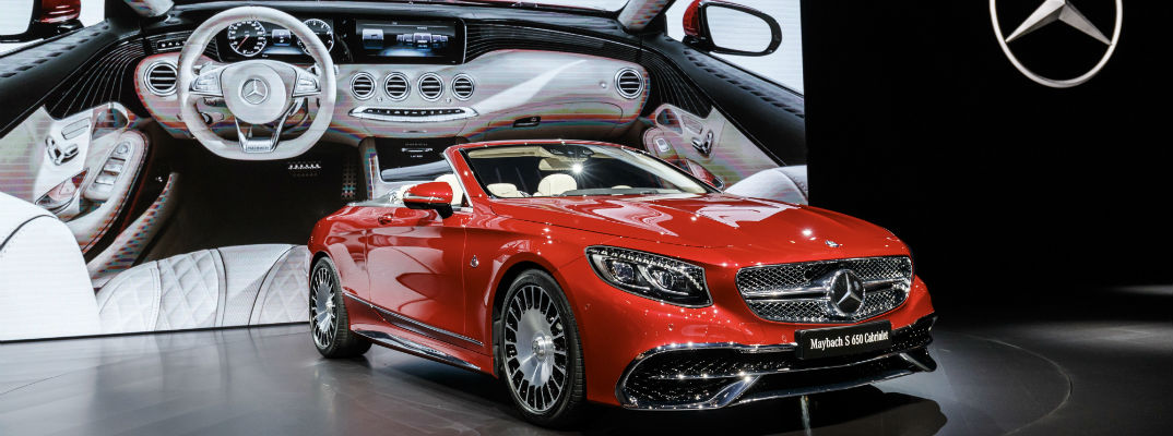 2018 Mercedes-Maybach S650 Cabriolet Color Options
