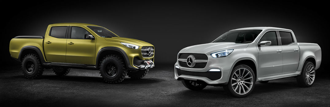 Does Mercedes-Benz have a pickup truck?