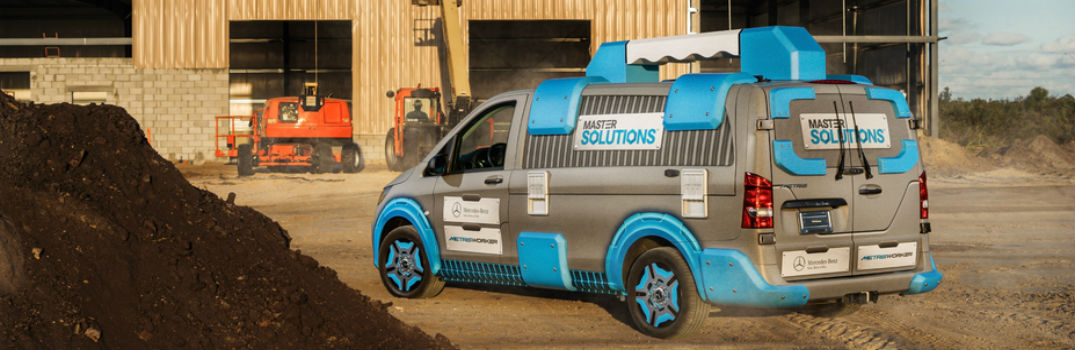 Mercedes-Benz Metris MasterSolutions Toolbox Concept at CAS