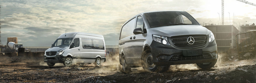 How many different vans does Mercedes-Benz make?