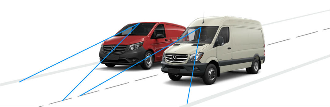 Do Mercedes-Benz vans have lane-keeping assist?