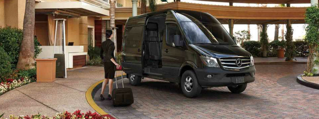 2017 Mercedes Benz Sprinter Passenger Van Safety Package