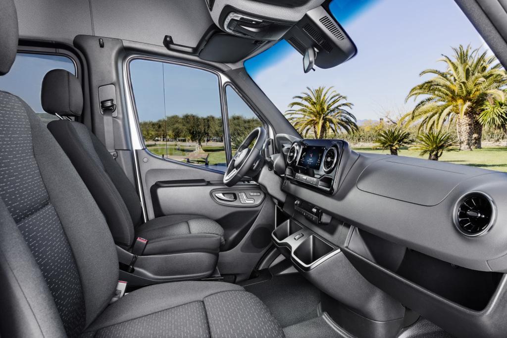 2019 Mercedes Benz Sprinter Interior Front Row