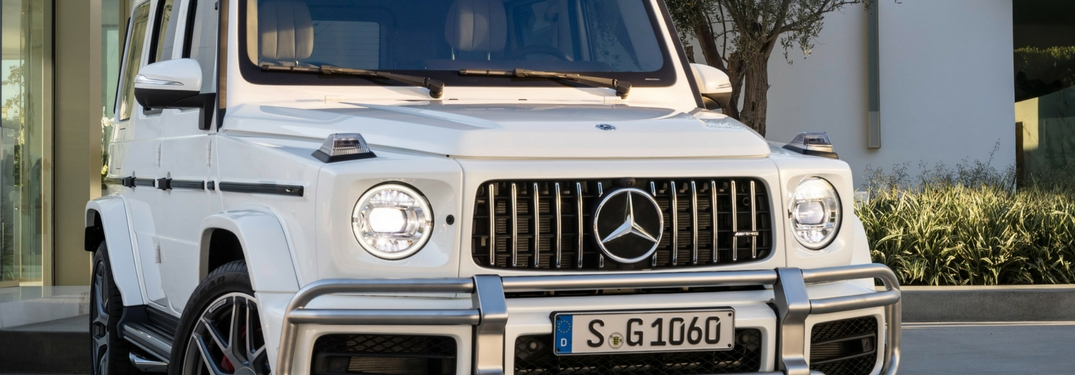2019 mercedes-amg g63 closeup grille