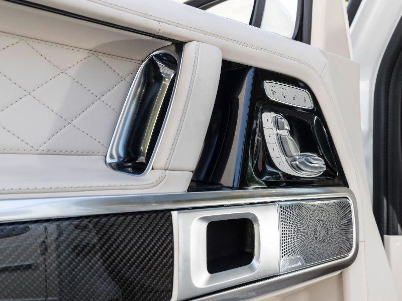 2019 mercedes-amg g63 leather door panels