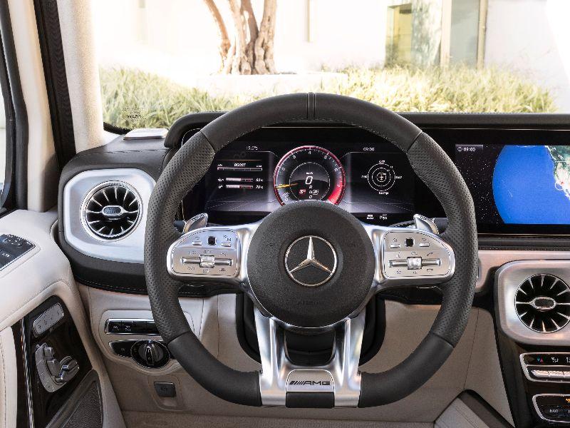 2019 mercedes-amg g63 steering wheel
