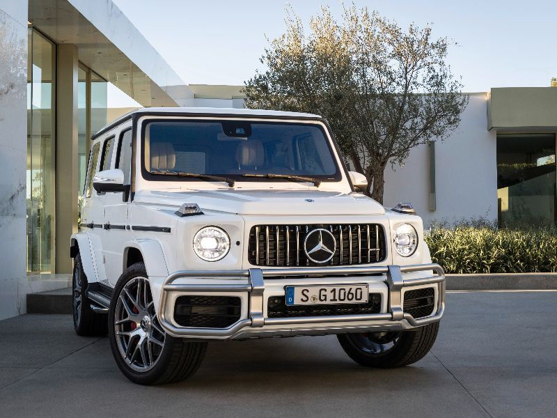 2019 mercedes-amg g63 front view