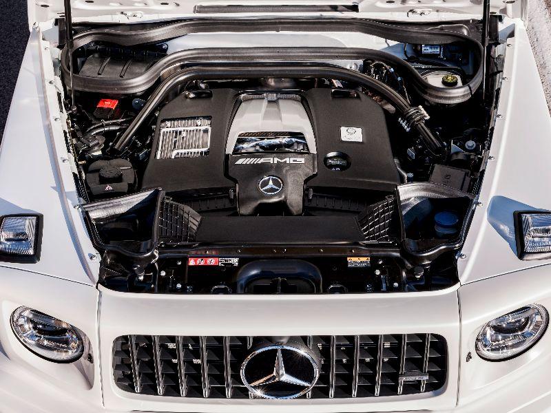 2019 mercedes-amg g63 engine