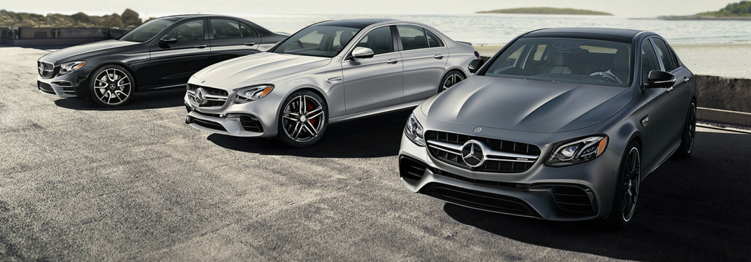 mercedes-benz models on display for mercedes-benz collection