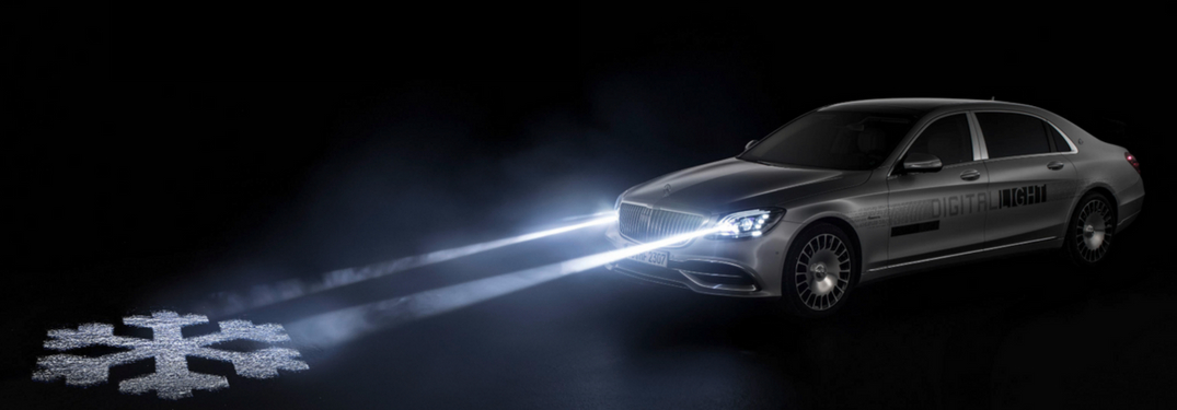 mercedes-benz with digital light driving