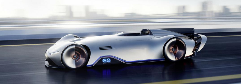What did Mercedes-Benz debut at Monterey Car Week in California?