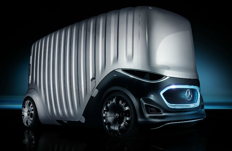 Mercedes-Benz Vision URBANETIC Cargo Mover