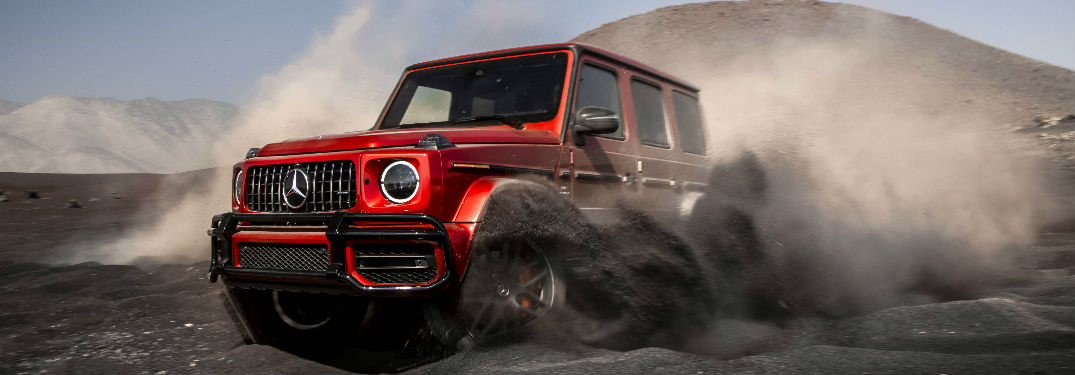 2019 Mercedes-AMG G 63 in red