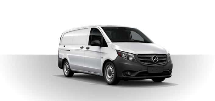 2019 Mercedes-Benz Metris Cargo Van rock white