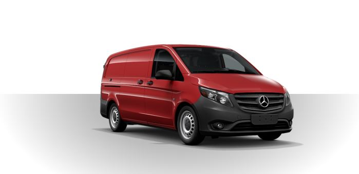 2019 Mercedes-Benz Metris Cargo Van jupiter red