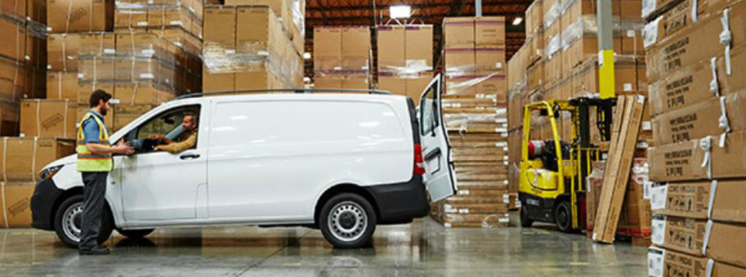 metris cargo van by boxes