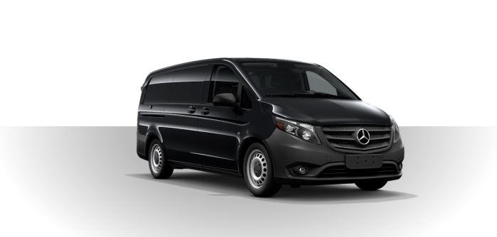 2019 Mercedes-Benz Metris Cargo Van obsidian black