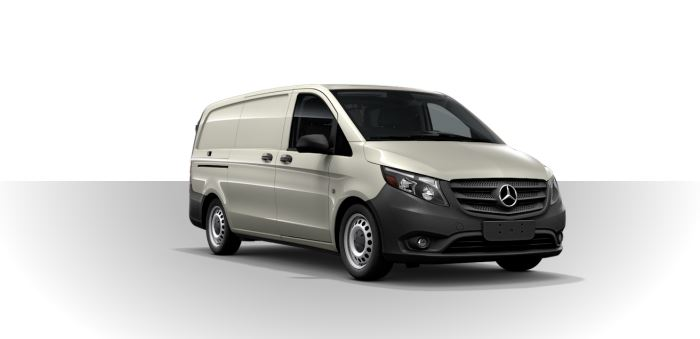 2019 Mercedes-Benz Metris Cargo Van pebble gray
