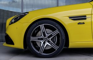 sun yellow SLC Final Edition front wheel