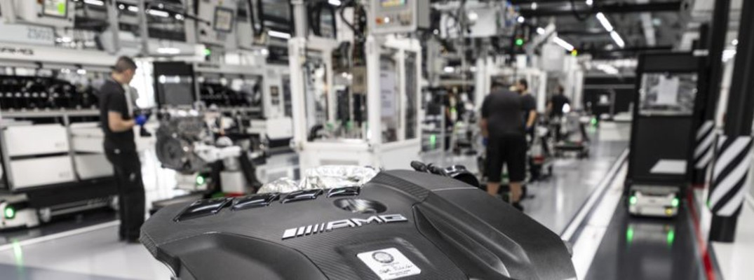 What is the most powerful Mercedes-Benz engine?