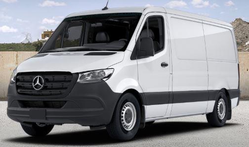 arctic white 2019 Mercedes-Benz Sprinter Cargo Van