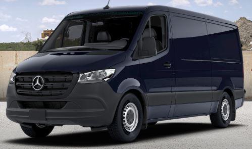 black blue 2019 Mercedes-Benz Sprinter Cargo Van